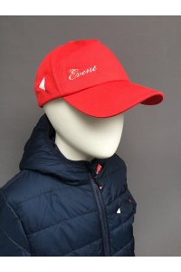 KIDS COTTON TWILL BASEBALL CAP - NAVY, DK GREY, RED