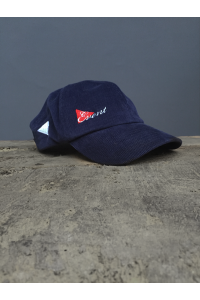 NEEDLE CORD BASEBALL CAP - NAVY ONLY