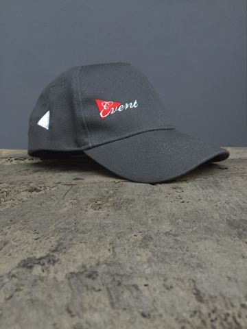 COTTON DRILL BASEBALL CAP - NAVY, GREY, RED,WHITE