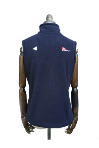 WOMENS FLEECE GILET - NAVY, ROYAL BLUE, GREY, RED