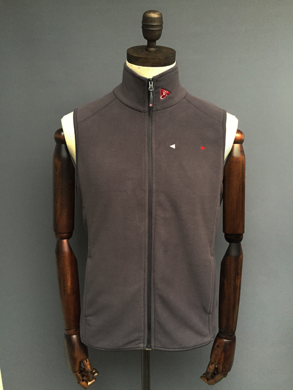 MENS FLEECE GILET - NAVY, GREY, RED