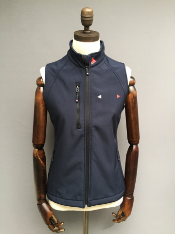 WOMENS WINDPROOF STRETCH GILET - NAVY, GREY, RED, BLACK, TURQUOISE £69.95