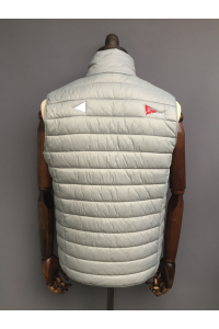 MENS PUFFA GILET - GREY ONLY