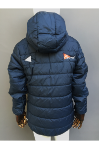 KIDS FUR HOODED PARKA
