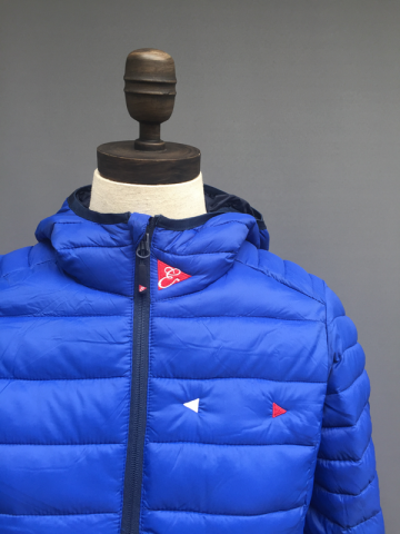 WOMENS HOODED LIGHT WEIGHT PUFFA JACKET