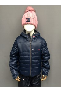 KIDS LT WT PADDED JACKET - Navy, Red, Royal