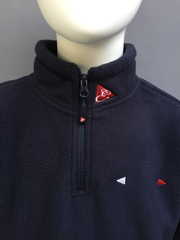 KIDS ZIP FLEECE  JACKET- NAVY, GREY, RED, ROYAL BLUE