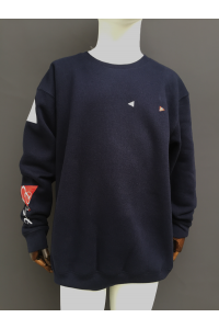KIDS SWEATSHIRT - NAVY, LT GREY, RED