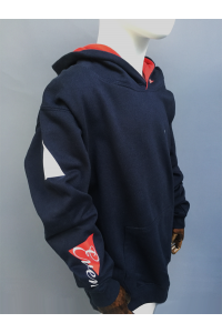 KIDS CONTRAST COLOUR HOODIE - 2 COLOURS